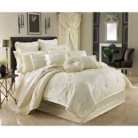 J. Queen New York™ Marquis California King Comforter Set in Ivory