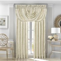J. Queen New York™ Marquis 84-Inch Rod Pocket Window Curtain Panel Pair in Ivory