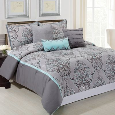 Buy Gray King Comforter Sets from Bed Bath & Beyond