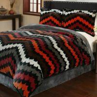 Fedora 3-Piece Queen Plush Comforter Set