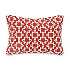 Anthology™ Jodhpur Ogee Oblong Throw Pillow in Orange
