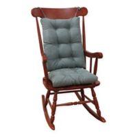 Klear Vu Twillo Universal Extra-Large 2-Piece Rocking Chair Pad Set in Marine