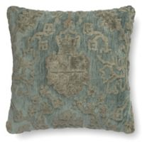 Loloi Rich Viscose 18-Inch Square Throw Pillow in Gray/Blue