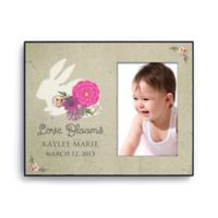 Love Blooms Personalized Picture Frame