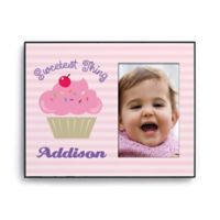 Sweetest Thing Personalized Picture Frame in Pink