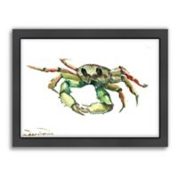 Americanflat Suren Nersisyan Designs Crab Matte Print with Frame