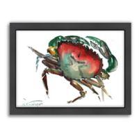 Americanflat Suren Nersisyan Designs Crab 3 Matte Print with Frame