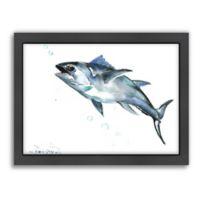 Americanflat Suren Nersisyan Designs Fish Matte Print with Frame