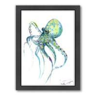 Americanflat Suren Nersisyan Designs Octopus Matte Print with Frame