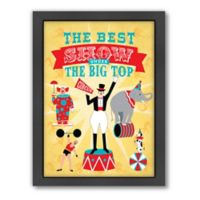 Americanflat Jilly Jack Designs Circus 3 Wall Art
