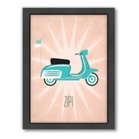 Americanflat Jilly Jack Designs Vintage Scooter 1 Wall Art