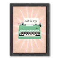 Americanflat Jilly Jack Designs Vintage Typewriter 1 Wall Art