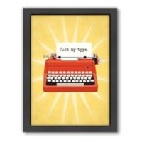 Americanflat Jilly Jack Designs Vintage Typewriter 2 Wall Art