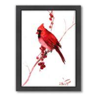 Suren Nersisyan Red Cardinal Bird Wall Art