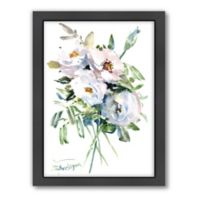 Suren Nersisyan White Roses Wall Art