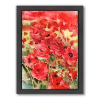 americanflat Suren Nersisyan Red Buttercups Wall Art