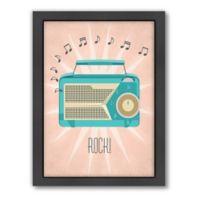 Americanflat Jilly Jack Designs Vintage Radio Wall Art