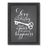 Americanflat Jilly Jack Designs Typography Lovekey Wall Art