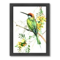 Americanflat Green Bee Eater 2 Wall Art