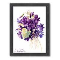 Americanflat Suren Nersisyan Wild Violets Wall Art