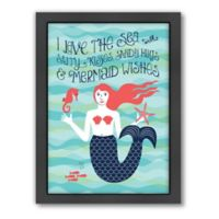 Americanflat Jilly Jack Designs Nautical Mermaid Wall Art
