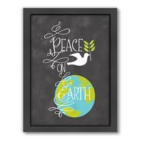 "Americanflat Jill Broadhacker ""Peace On Earth"" Wall Art"