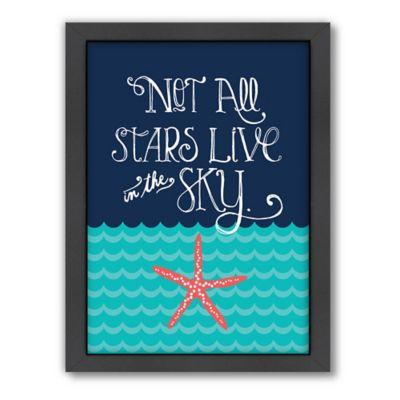 Americanflat Jilly Jack Designs Nautical Starfish Wall Art