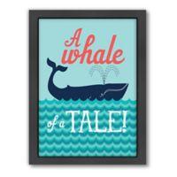 Americanflat Jilly Jack Designs Nautical Whaletale Wall Art