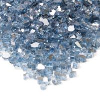 Real Flame® Reflective Fire Glass in Blue