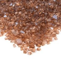 Real Flame® Reflective Fire Glass in Copper