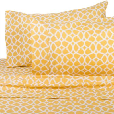 Buy Solid Yellow Sheets From Bed Bath Amp Beyond
