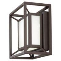 George Kovacs® Outline 6.75-Inch LED Outdoor Pocket Lantern in Sand Bronze