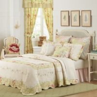 Mary Jane's Home Prairie Bloom King Bedspread in Yellow