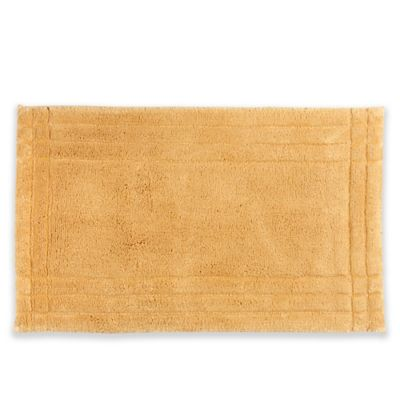 Christy Lifestyle Ultra Soft Cotton 21 Inch X 34 Bath Rug In Gold