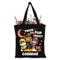 Paw Patrol Trick-Or-Treat Bag in Black