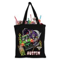 Monster Jam Grave Digger Trick-Or-Treat Bag in Black