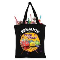 Chugginton Trick-Or-Treat Bag in Black