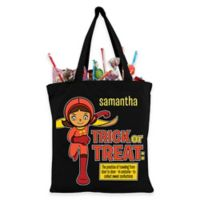 Personalized WorldGirl Trick-Or-Treat Bag in Black