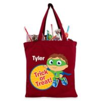 Super Why! Super Readers Trick-or-Treat Bag in Red