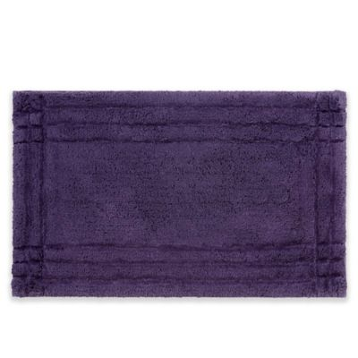 Christy Lifestyle Ultra Soft Cotton 21 Inch X 34 Bath Rug In Purple