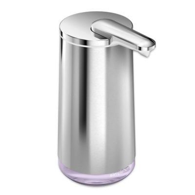 simplehuman  Foam Cartridge Sensor Pump Hand Soap Dispenser. Buy Hand Soap Dispensers from Bed Bath   Beyond