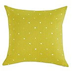Kensie Ingrid Polka Dot Throw Pillow in Mustard