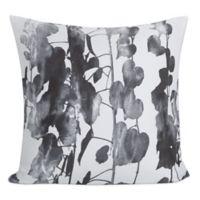 Kensie Kara European Pillow Sham in Grey/Black