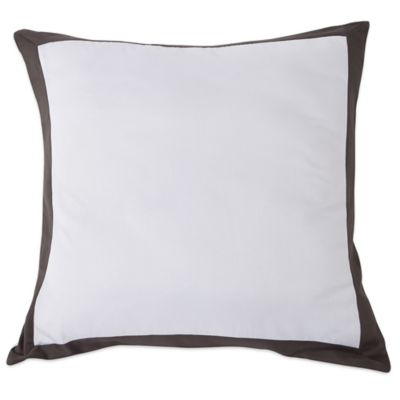 Brand-new Buy Black European Sham from Bed Bath & Beyond BY55