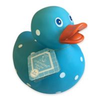 cribmates™ Polka Dot Duck in Blue