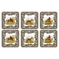 Pimpernel Woodland Coaster (Set of 6)