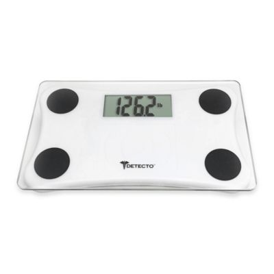 Superbe Detecto® Glass LCD Digital Scale