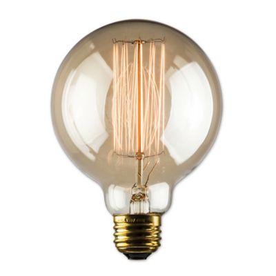 luminance nostalgia 30watt g30 amber light bulb