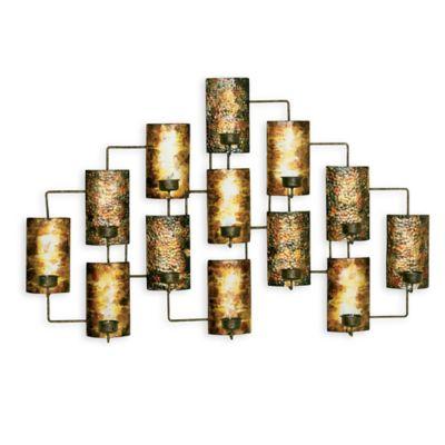13-Light Tealight Holder Wall Décor