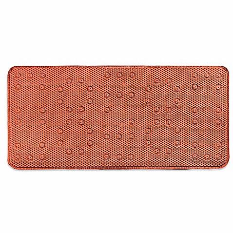 Waffle Weave Foam 17 Inch X 36 Inch Tub Mat Bed Bath